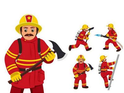 初级消防员证工资待遇图片